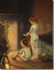 PaulPeel-After-the-Bath-1890
